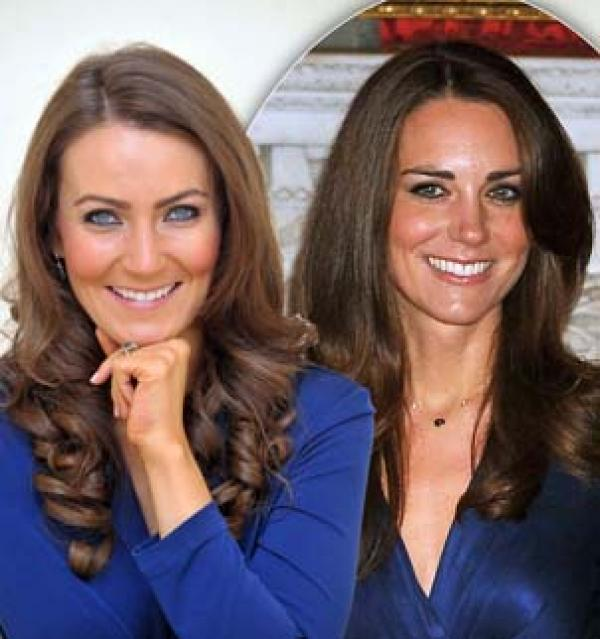 Foto: Conoce a la doble de Kate Middleton