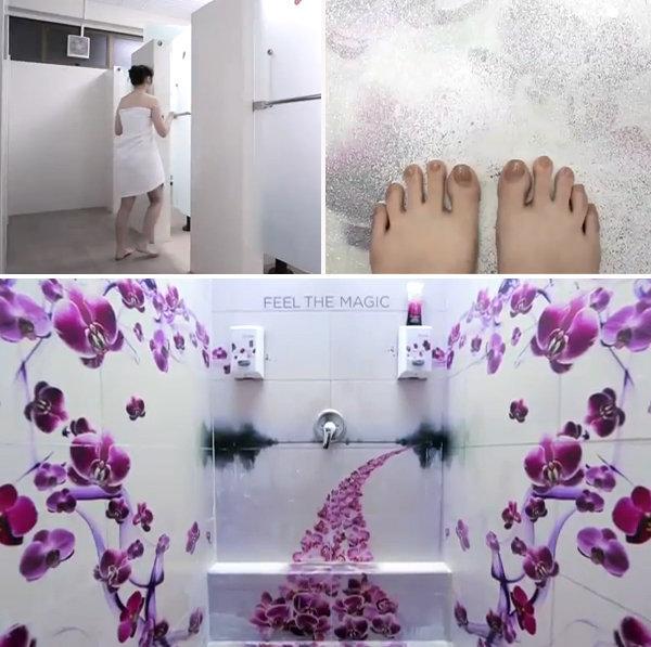 Video: La ducha que jamás olvidarás