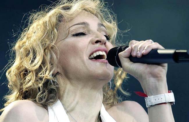 Madonna en Bailando Por Un Sueño en vivo con Marcelo Tinelli