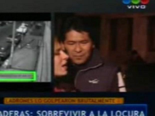 Video: Cronistas de Telefe y El Trece se pelean en vivo