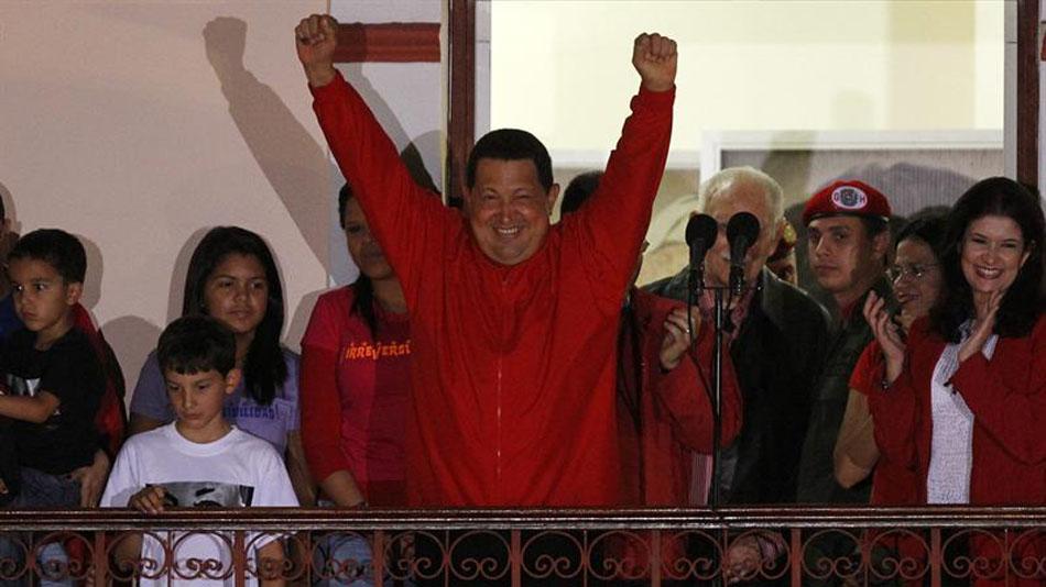 Hugo Chávez reelecto como presidente de Venezuela