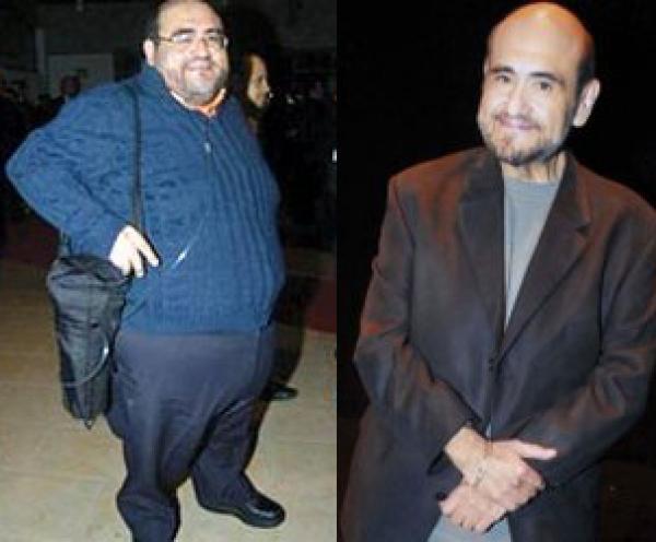 Irreconocible: Edgar Vivar, el 'Señor Barriga' flaco