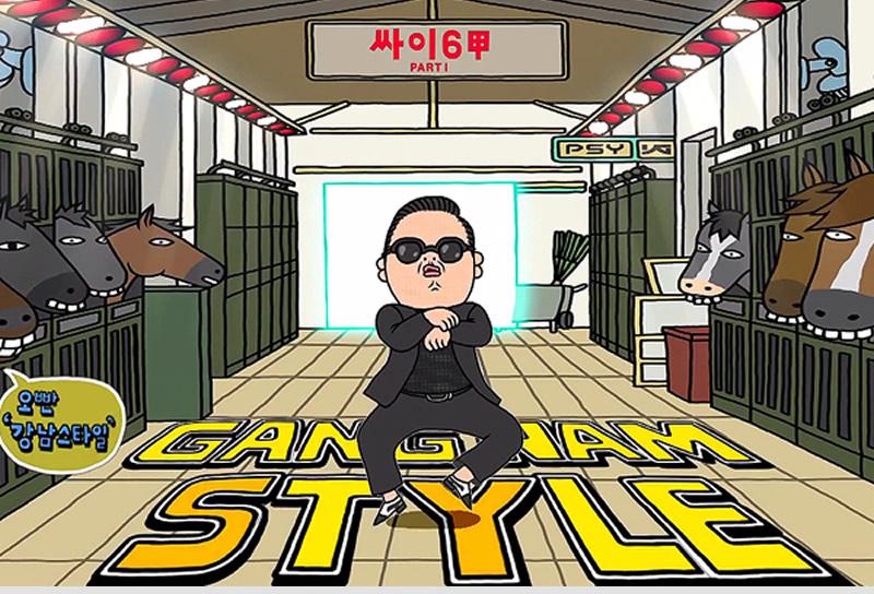 "Así nació el ""Gangnam Style"" - Video"