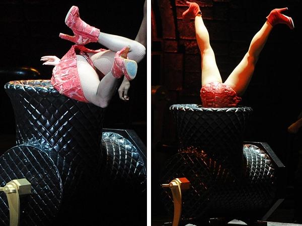 La nueva excentricidad de Lady Gaga sobre el escenario - Videos y Fotos