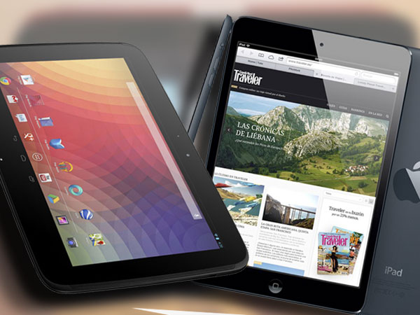 Nexus 10 vs. iPad 4: Semejanzas y diferencias