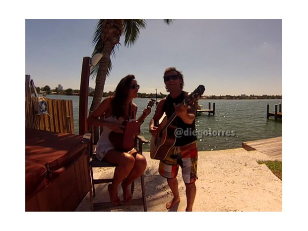 Video: La dulce canción de Diego Torres y Debora Bello a su hijo