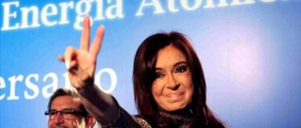 Cristina Kirchner con respecto al 8N