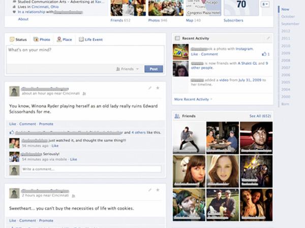 Así es el nuevo Timeline de Facebook - Cambios en la red social