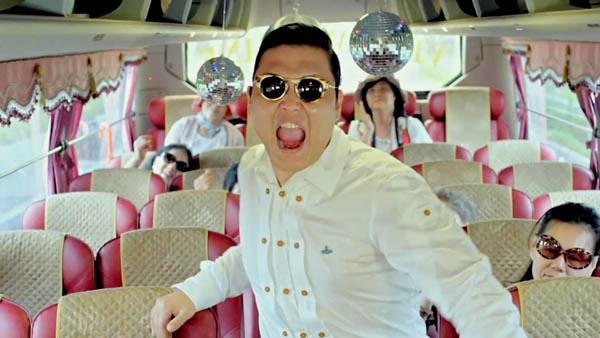 Psy visita Argentina