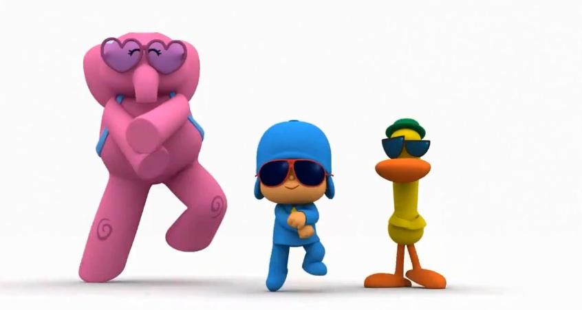 Video: Pocoyo y sus amigos bailan el Gangnam style